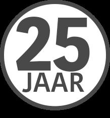 Icoon 25jaar